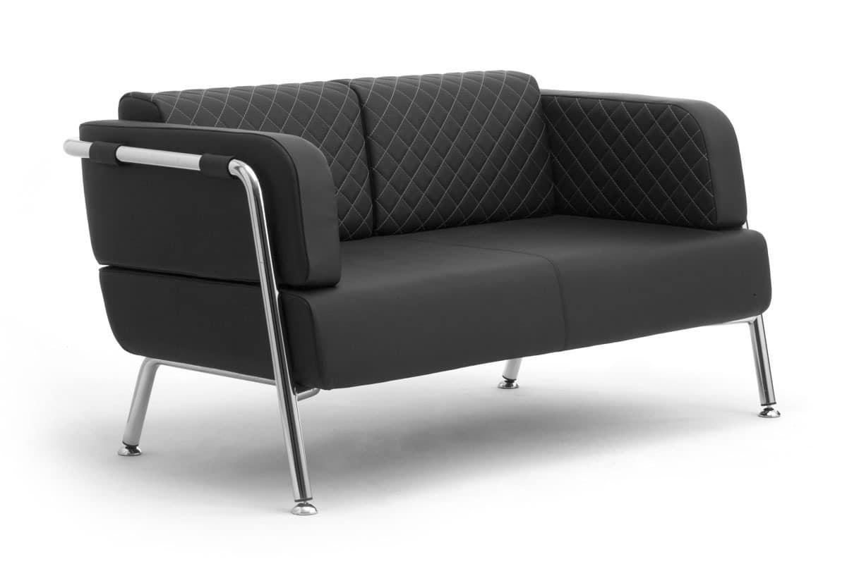 zweisitzer sofa mit polsterung aus polyurethanschaum idfdesign. Black Bedroom Furniture Sets. Home Design Ideas