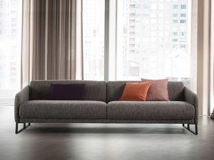 Asolo, Bequemes Sofa mit Mechanismus für den Sitz herausziehen
