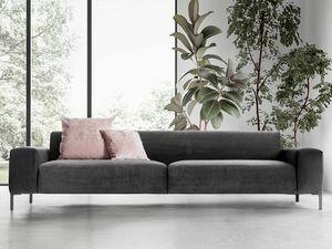 Boston liscio, Bequemes Sofa, mit einem raffinierten Design