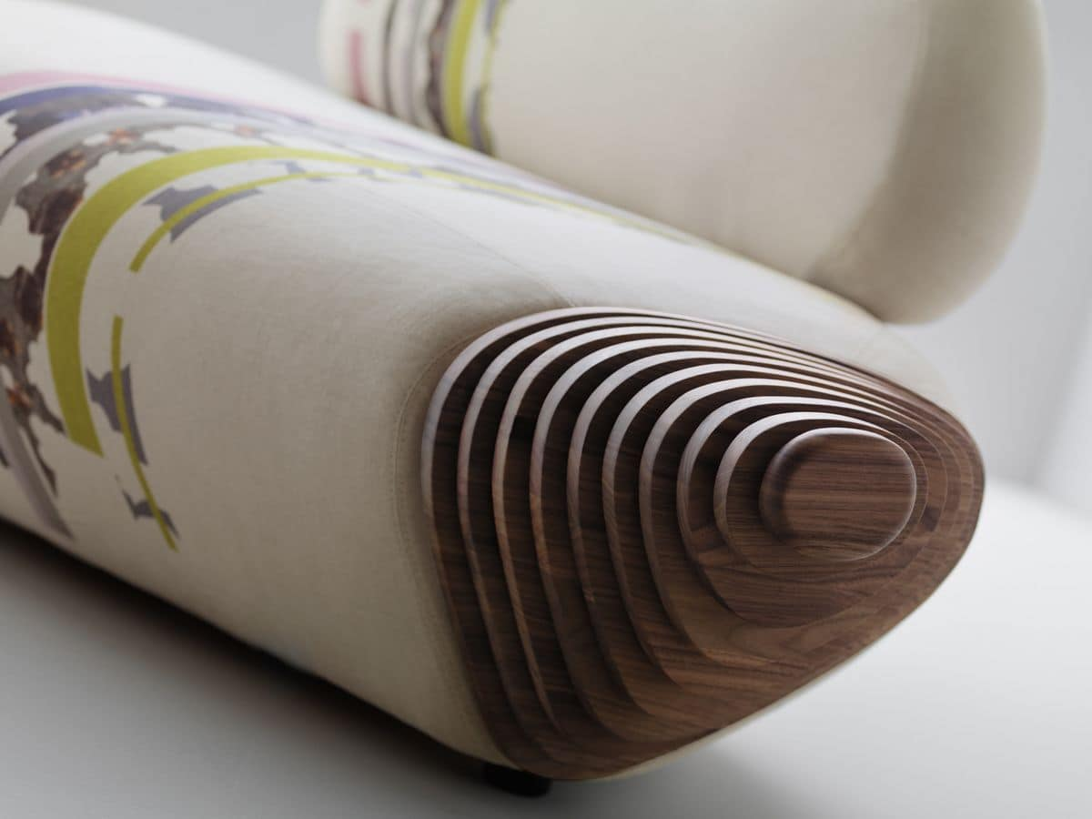 modul sofa mit holzrahmen komfortabel gepolsterten sitz. Black Bedroom Furniture Sets. Home Design Ideas