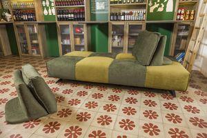 Bubble, Sofa mit abnehmbaren Bezügen ohne Armlehnen