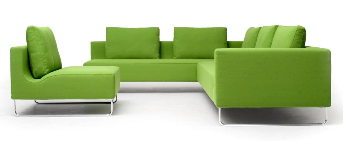 Licht stabil langlebig modulares sofa idfdesign Sofa quadratisch