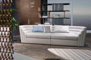 DI47 08 Dune, 3-Sitzer-Sofa mit Baumwollbezug