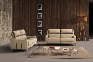Domino, Sofa mit integrierter Kopfstütze