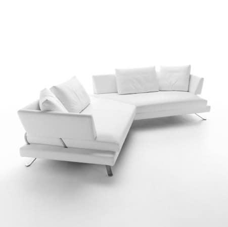 corner design sofa mit abnehmbarem deckel idfdesign. Black Bedroom Furniture Sets. Home Design Ideas