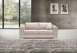 Eden, Sofa mit eckigen Armlehnen