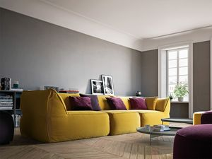 Eden, Design modulare Sofa ohne starre Struktur