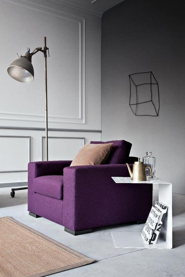 Family, Linear Schlafsofa für Wohnzimmer, moderne Sofa für Zuhause