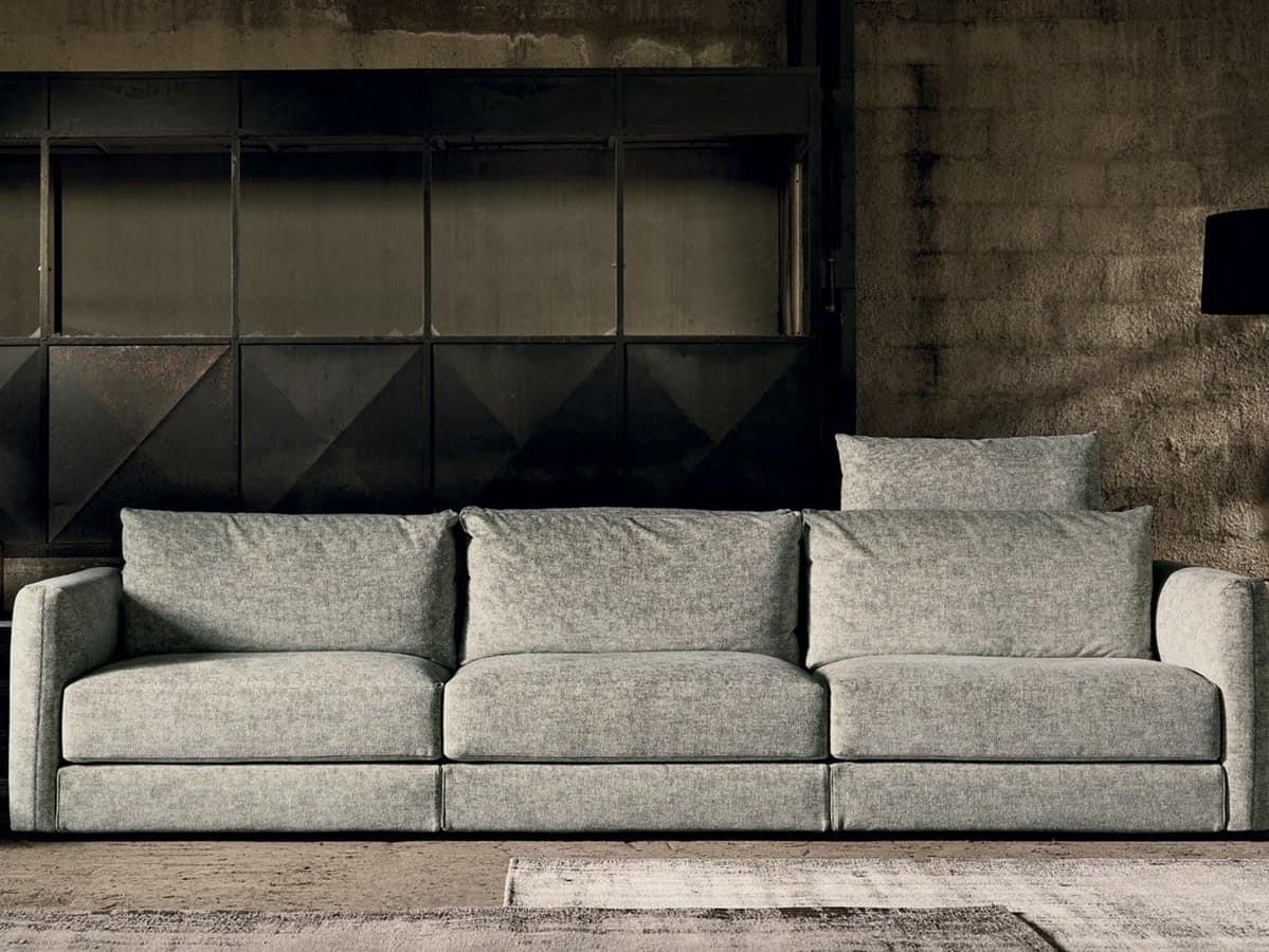 4 sitzer sofa mit abnehmbarem stoff idfdesign for Sofa 4 sitzer stoff
