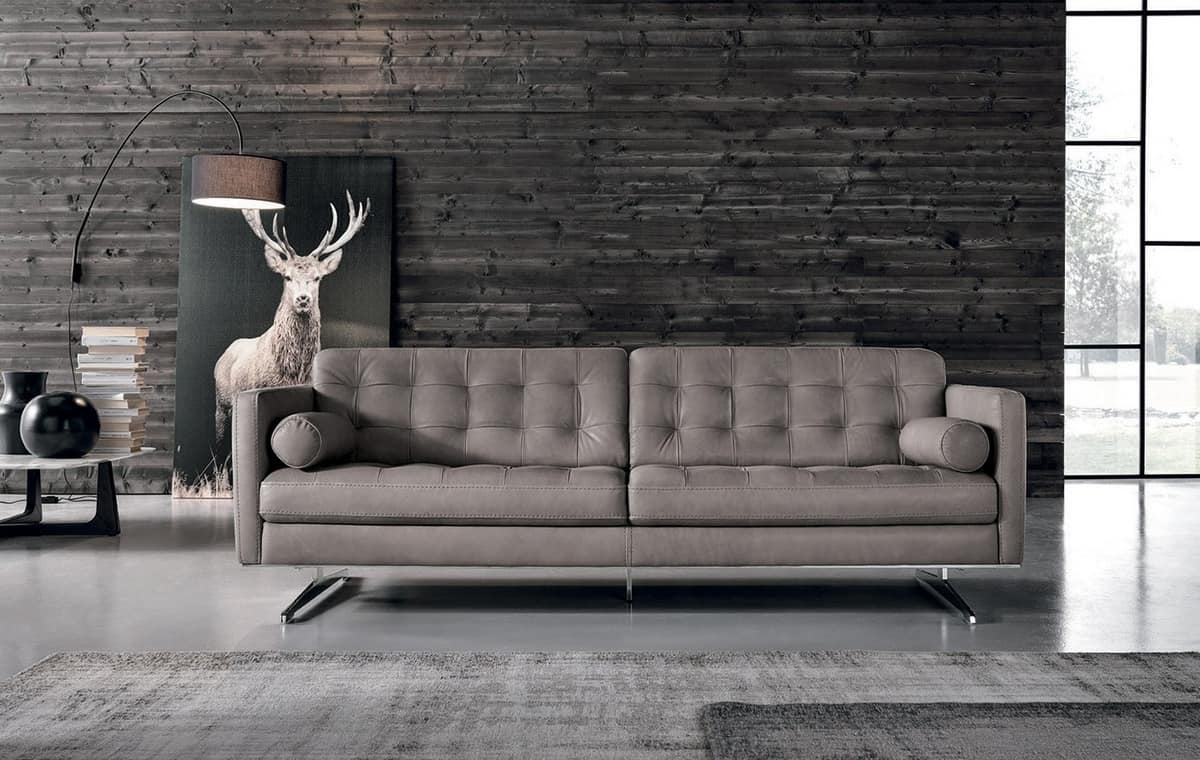 3-sitziges Sofa, gesteppt | IDFdesign