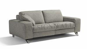 Ingrid, Sofa mit eckigen Armlehnen