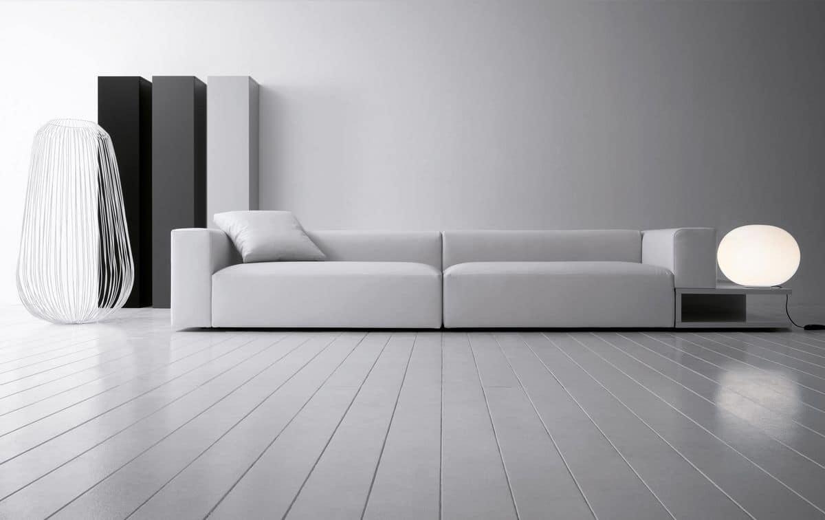 Modularer aufbau sofa für moderne lounges idfdesign