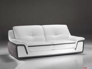 Lapka, Modernes bequemes Sofa mit umlaufender Rückenlehne