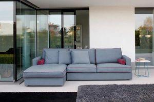 LUX, 3-Sitzer-Sofa mit großen Sitzen
