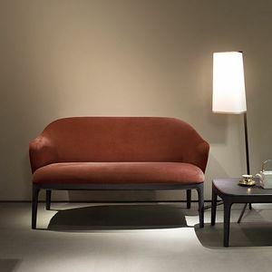 Manda Sofa, 2-Sitzer-Sofa mit Stoff bezogen
