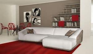 Metropolitan, Sofa mit zwei oder drei Sitze, moderner Stil