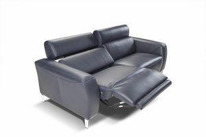 Nataly, 2-Sitzer-Sofa mit Kopfstütze
