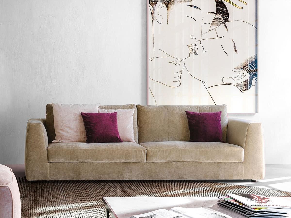 Sofas polstersitze sofas polstersitze modern fest quadratisch idfdesign Sofa quadratisch