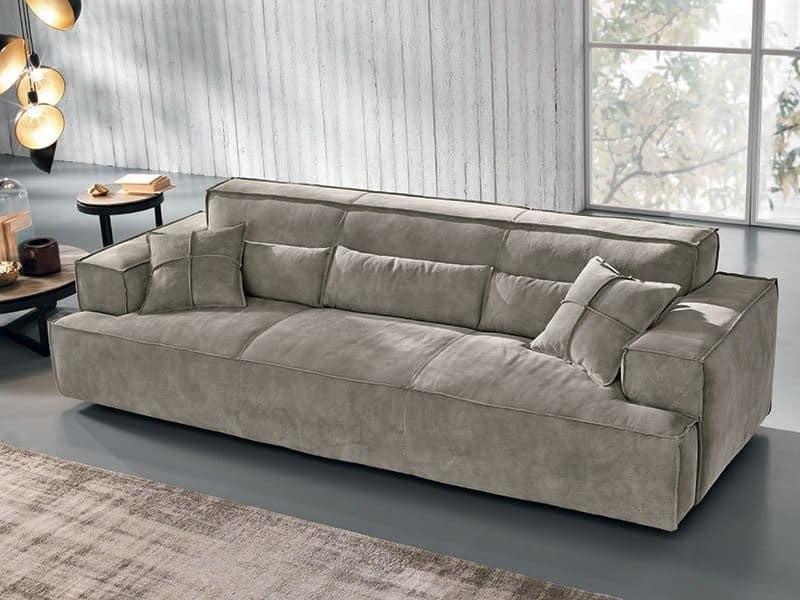 4 sitzer sofa nubukleder idfdesign. Black Bedroom Furniture Sets. Home Design Ideas