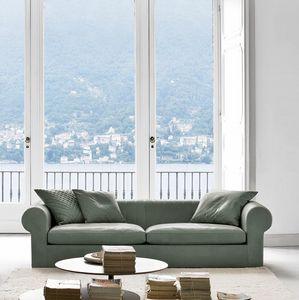 Overtime, 2 oder 3-Sitzer-Sofa mit Armlehnen