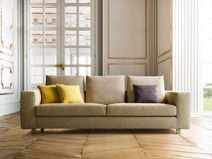 Palio, Sofa mit linearem und raffiniertem Design
