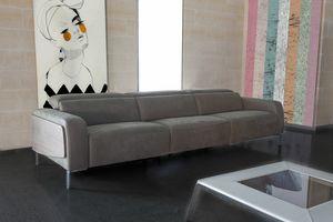 Passion, 3-Sitzer-Sofa mit Fußstütze