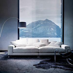 Take It Easy, Modernes Sofa mit Feder gepolstert