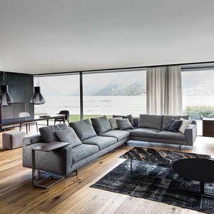 Taylor, Modulares Sofa mit abnehmbarem Bezug