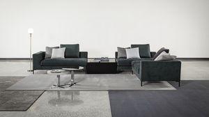 Tyler, Modernes Sofa mit Gänsedaunenlehne