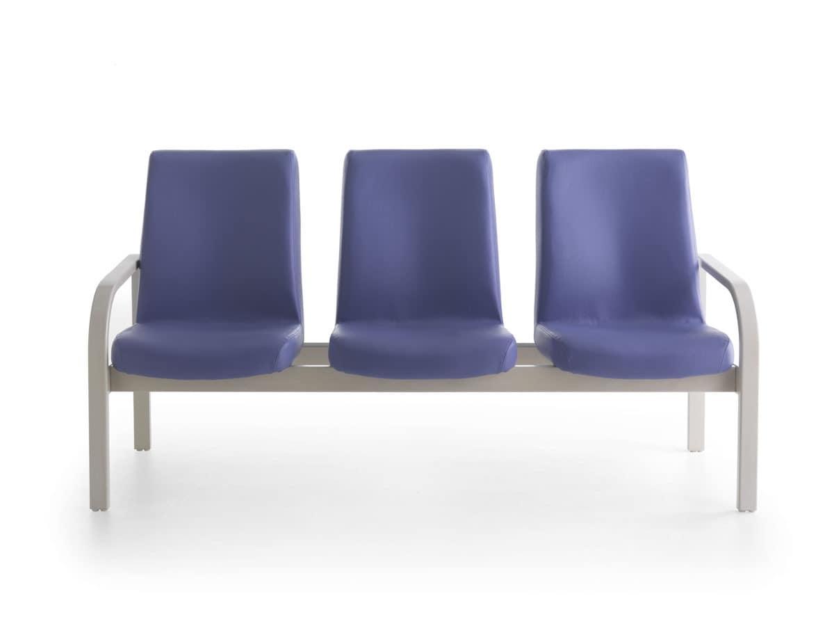 sofa mit bequemen r ckenlehne f r krankenhaus idfdesign. Black Bedroom Furniture Sets. Home Design Ideas