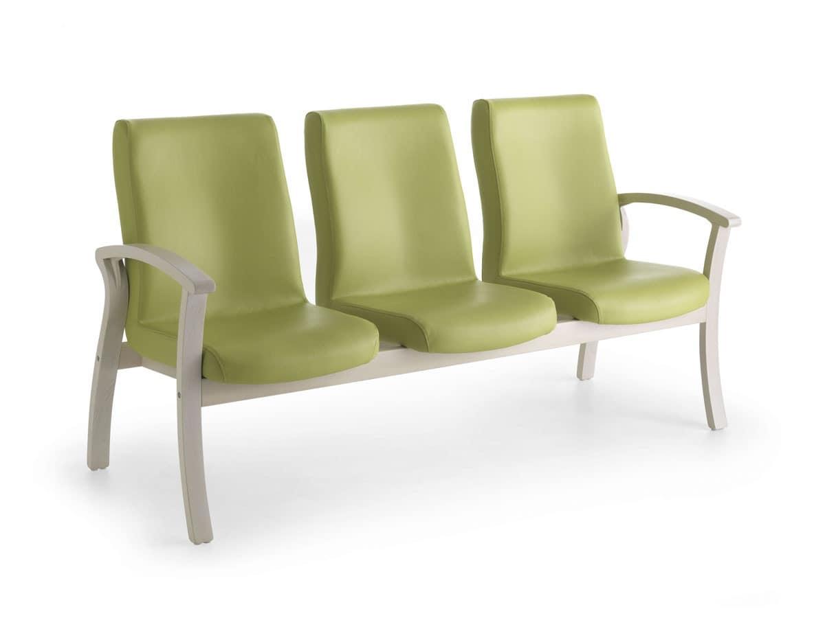 sofa stabil bei 3 pl tze f r erholungsheime idfdesign. Black Bedroom Furniture Sets. Home Design Ideas