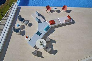 Bento Modulsofa, Modulares Sofa mit modernem Design, für draußen und drinnen