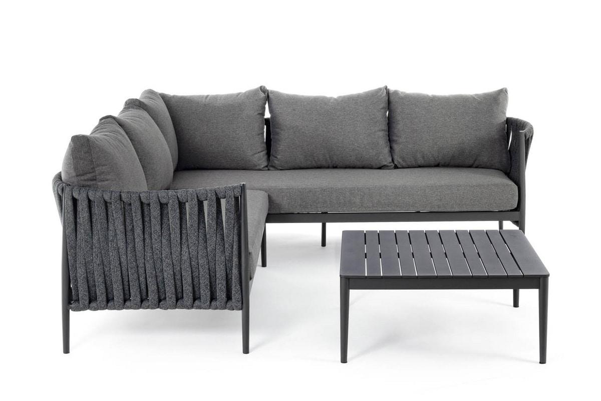 BRERA, Gewebtes Sofa für draußen