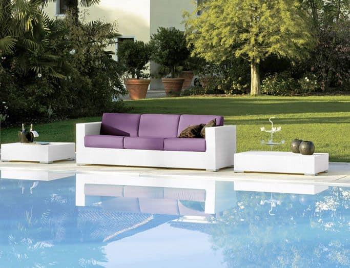 gewebte 3 sitzer f r die strandbar und aufenthaltsr ume idfdesign. Black Bedroom Furniture Sets. Home Design Ideas