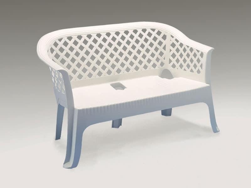 wasserdicht sofa aus kunststoff f r den au eneinsatz. Black Bedroom Furniture Sets. Home Design Ideas
