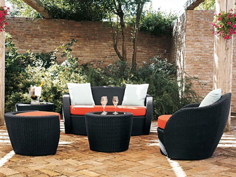 lotus lounge 528 sofa gartensofa garten idfdesign. Black Bedroom Furniture Sets. Home Design Ideas