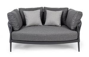 MOON, Kleines Sofa für den Außenbereich
