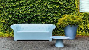 Sirchester Sofa, Outdoor-Sofa, mit einem System der Entwässerung