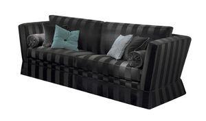 Agamennone, Sofa mit abnehmbarem Bezug