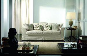 Amarcord, Klassisches Sofa mit anpassbaren Kissen