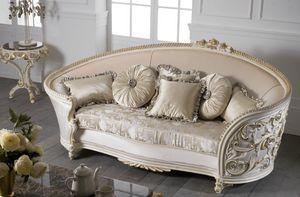 Art. 1253, Canapé avec de luxueuses décorations artisanales