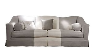 Beniamino, Sofa mit abnehmbarem Stoffbezug