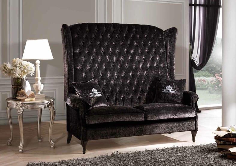 bergere sofa mit hoher r ckenlehne idfdesign. Black Bedroom Furniture Sets. Home Design Ideas
