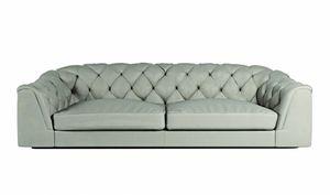 Botero Sofa, Klassisches Sofa mit Capitonnè Rückenlehne