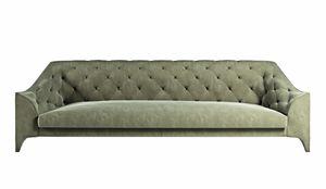 Brando Sofa, Großes Sofa mit zeitgenössischem klassischem Design