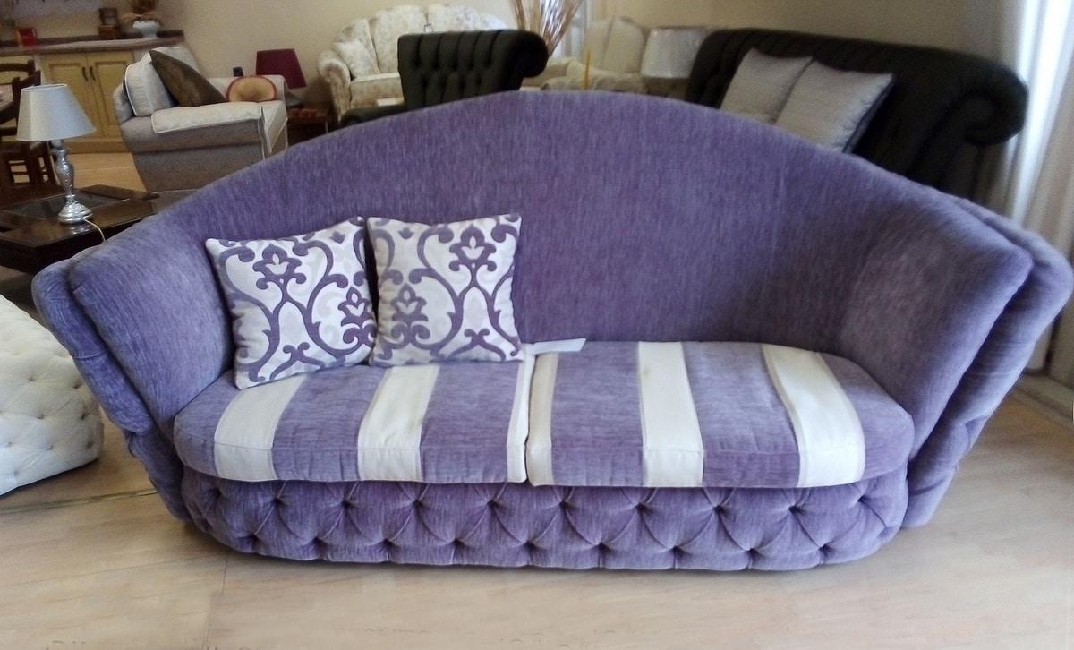 Buren Sofa, Klassisches Sofa mit Stoff bezogen