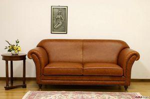 Chelsea Sofa, Luxuriöses Sofa im englischen Stil, inspiriert vom Design der 50er Jahre