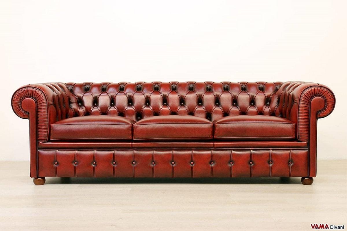 Chesterfield Sofa In Leder Idfdesign