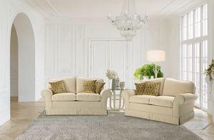 Costanza, 2-Sitzer-Sofa mit Armlehnen