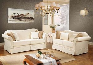DESIRE', Klassisches Sofa mit abnehmbarem Bezug